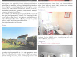 5 Acre Smallholding with Outbuildings (IDEAL SELF-ISOLATION)