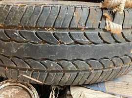 Tyres 155/70 x R13 - Part-worn tyres on wheels from VW POLO - FREE