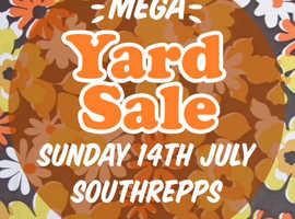 Big YARD SALE Including Vintage Southrepps Sunday 14th July