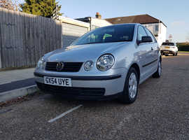Volkswagen Polo, 2004 (54) Silver Hatchback, Automatic Petrol, 75,000 miles