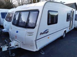 2006 Bailey Pageant Bretagne, six berth caravan, free extras, ready to use