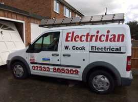 Electrician local to st neots avaliable for all your electrical projects large or small.