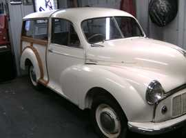 im selling my morris minor woody