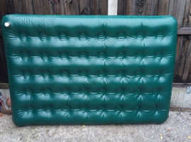 Double Flocked  Airbed, in good condition.