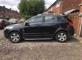 Vauxhall Antara, 2008 (57) Black Hatchback, Manual Diesel, 73 miles
