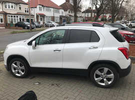 Chevrolet Trax, 2014 (63) White Hatchback, Manual Diesel, 74,045 miles