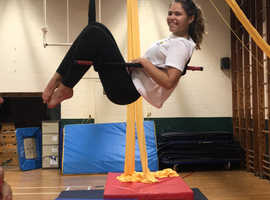 Circus Aerials - get fit upside down!