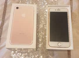 Rose gold iPhone 7 32gb
