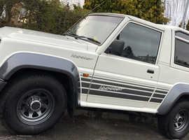 Daihatsu FOURTRAK INDEPENDENT TDX, 1994 (L) White Estate, Manual Diesel, 99,000 miles