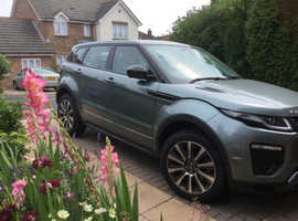 RANGE ROVER EVOQUE PETROL DYNAMIC HSE LUX Si Scotia Grey 11450 miles 2017 model