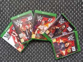 XBox One WWE 2K games bundle