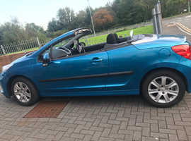 Peugeot 207, 2008 (57) Blue Coupe, Manual Petrol, 63,022 miles