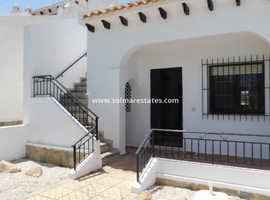 Reduced Costa Blanca Lola Style 2 bed bungalow with Rooftop Solarium in Villamartin