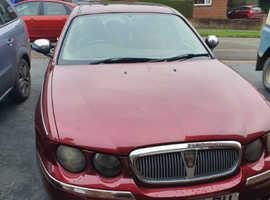 Rover 75, 2003 (53) Red Saloon, Manual Diesel, 91,726 miles