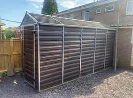 Huge garden shed