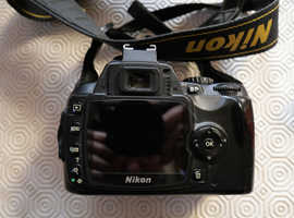 NIKON DX DX40X KIT: flash, 3 lenses, accessories.