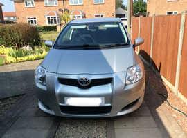 Toyota Auris, 2009 (09) Silver Hatchback, Manual Petrol, 73,600 miles