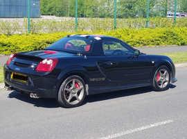 Toyota Mr2, 2003 (03) Black Convertible, Manual Petrol, 55,000 miles