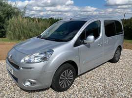 2015 Peugeot Partner Tepee Horizon S Petrol WAV Wheelchair Disabled *14K Miles* FSH