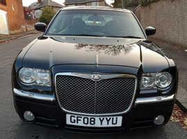 Chrysler 300c, 2008 (08) Black Saloon, Automatic Diesel, 111,311 miles fsh 6 months waranty