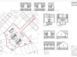 Freehold land with planning for 5 houses