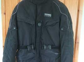 Mens Spidi textile motorcycle jacket (Large).