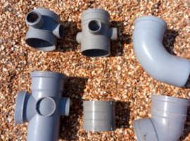 100mm grey soil pipe fittings
