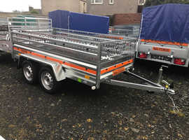 BRAND NEW TRAILER 8.7FT X 4.1FT WITH MESH  TRAILERS