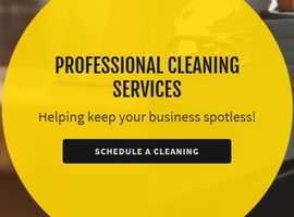 We offer cleaning services for schools, churches, medical facilities, office buildings, and more.
