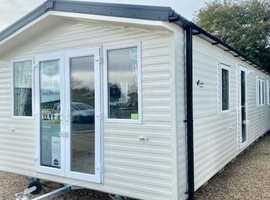 Free 2021 & 2022 Site Fees New 3 Bedroom Static Caravan in Clacton on Sea, Essex