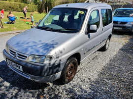 Citroen Berlingo, 2001 (51) Silver Estate, Manual Diesel, 71,000 miles Wheelchair Access