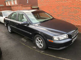 Volvo S80, 1999 (V) grey saloon, Manual Diesel, 88,572 miles