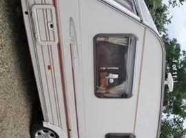 Sterling 4 birth touring caravan