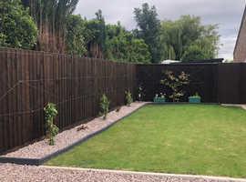 Heavy duty fencing panels