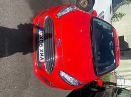 Ford Fiesta, 2016 (65) red hatchback, Manual Diesel, 44000 miles