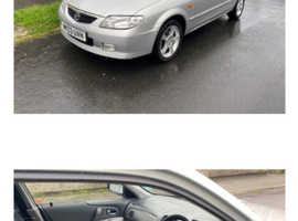 Mazda 323, 2003 (03) Silver Hatchback, Automatic Petrol, 44,000 miles