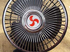 12v DC Ocillating Fan Car Camper Van Clip On