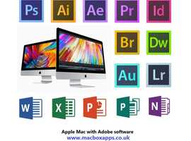 APPLE MAC WITH ADOBE PHOTOSHOP, ILLUSTRATOR, LIGHTROOM & MSOFFICE SOFTWARE PACKAGE