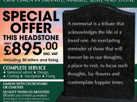 Cymru Memorials Monumental Masons
