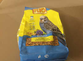 Clearance RIO 1kg Bag Of Budgie Food