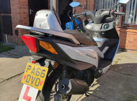 Daelim steezer s 125cc scooter 2016