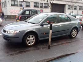 Renault Laguna, 2004 (04) Blue Hatchback, Automatic Petrol, 55,000 miles