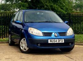 Renault GRAND SCENIC, 2004 (54) Blue MPV, Manual 1.9 Diesel, 91,460 miles, NEW MOT, 7 SEATER