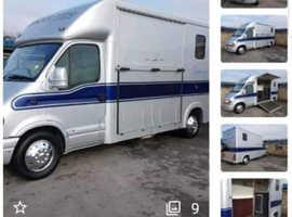3.5 Tonne horsebox to rent self drive