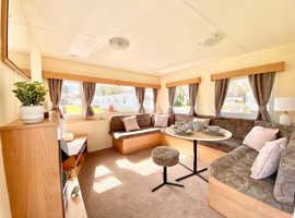 Double Glazed & Central Heated 3 Bed Caravan on the Northumberland coast.