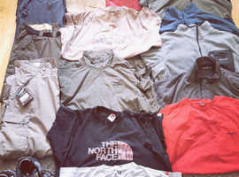 Selection of craghoppers walking clothes