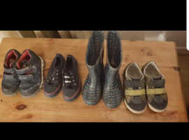 Boys shoes various size 9 - 10