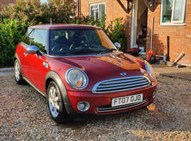 Mini MINI, 2007 (07) Red Hatchback, Manual Petrol, 85,000 miles