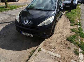 Peugeot 207, 2009 (09) Black Estate, Manual Diesel, 106,176 miles