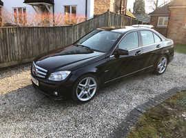Mercedes C CLASS, 2010 (10) black saloon, Automatic Diesel, 138,000 miles